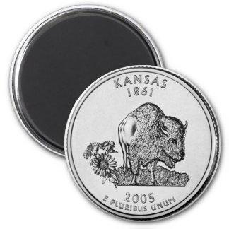 Imán 2005 del cuarto del estado de Kansas