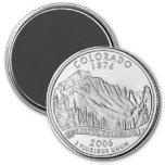 Imán 2006 del cuarto del estado de Colorado