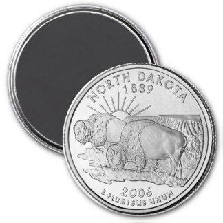 Imán 2006 del cuarto del estado de Dakota del Nort