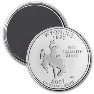 Imán 2007 del cuarto del estado de Wyoming