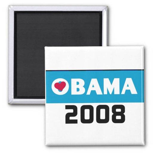 Imán 2008 de OBAMA