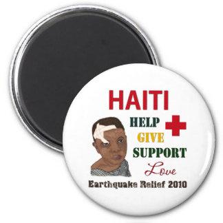 Imán 2010 del alivio del terremoto de Haití