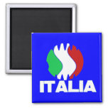 Imán 2010 del refrigerador del WC de Italia Italia
