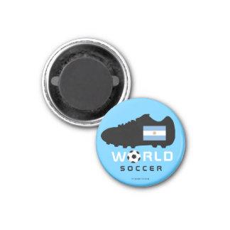 Imán 2010 del zapato de la Argentina del mundial