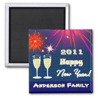 Imán 2011 de la Feliz Año Nuevo