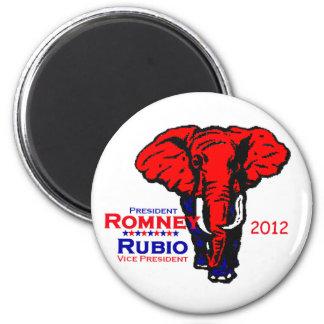 Imán 2012 de Romney Rubio