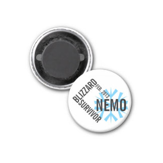 Imán 2013 del superviviente de Nemo de la ventisca