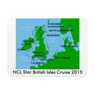 Imán 2015 de la travesía de las islas británicas