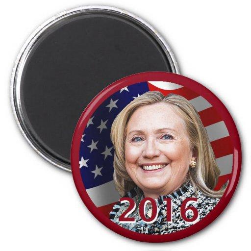 Imán 2016 de Hillary