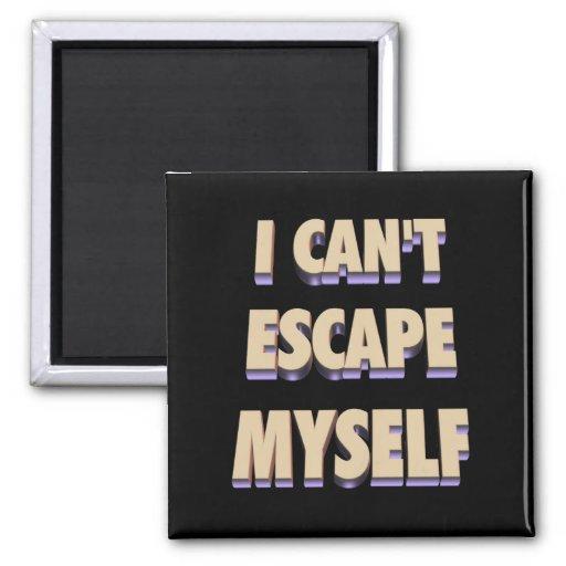 Imán 3D del escape mismo