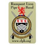 Imán 4X6 - w/URL 1 del escudo de RLPB
