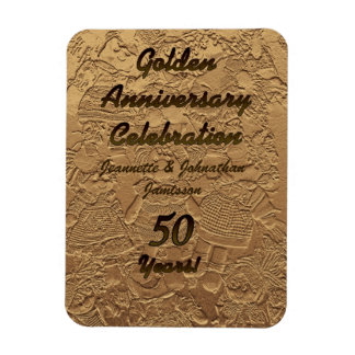 Imán 50 de la celebración del aniversario de boda