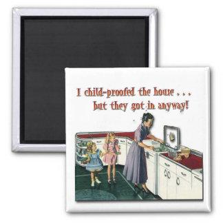 Imán a prueba de niños de la casa