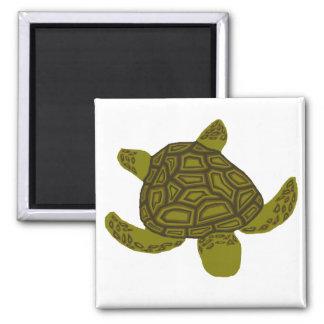 Imán acodado de la tortuga de mar de Honu
