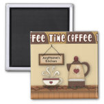 Imán adaptable de la cocina del café