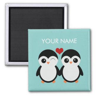 Imán adaptable de los pares del pingüino