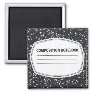 Imán adaptable del cuaderno de la composición
