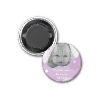 Imán adaptable púrpura del bebé