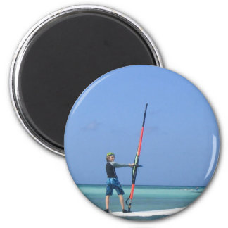 Imán adolescente Windsurfing