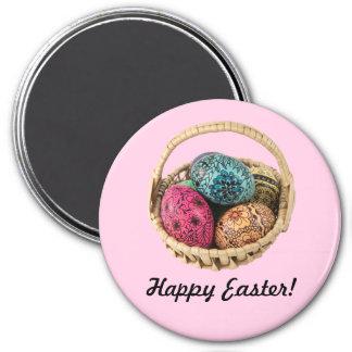 Imán adornado del huevo