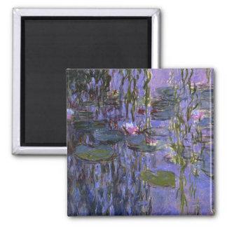 Imán - agua Lillies