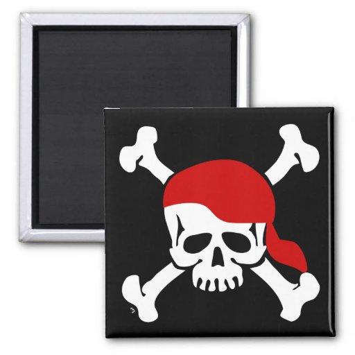Imán alegre del pirata de Rogelio