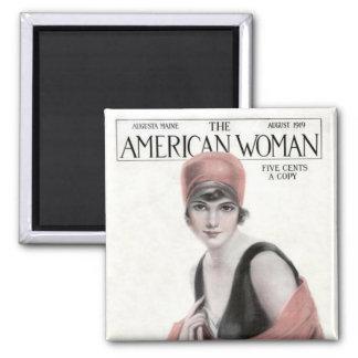 Imán americano 1919 de la revista de la mujer del