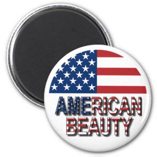 Imán americano de la belleza
