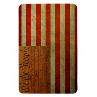 imán americano de la constitución