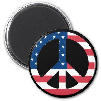 Imán americano de la paz