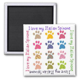 """Imán - """"amo mi Spinone italiano""""."""