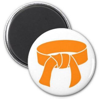 Imán anaranjado de la correa de los artes marciale