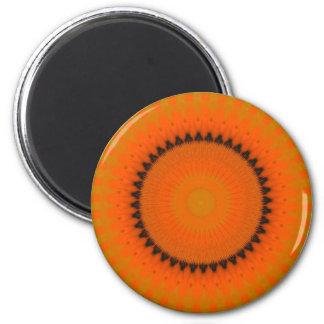 Imán anaranjado del caleidoscopio
