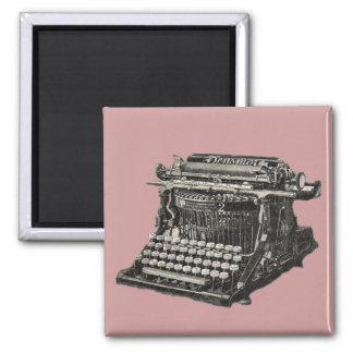 Imán antiguo de la máquina de escribir