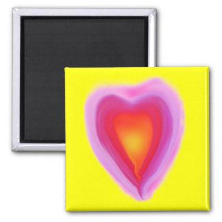Imán apasionado del corazón