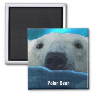 Imán ártico del arte de la fauna del oso polar que