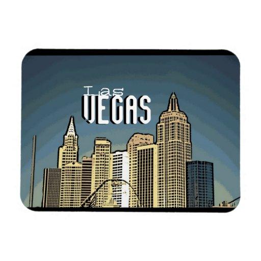 Imán artsy de la opinión del hotel de Las Vegas Nu