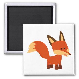 Imán astuto lindo del Fox del dibujo animado