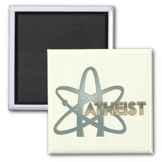 Imán ateo (del símbolo ateo americano oficial)