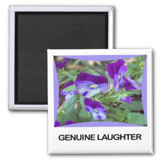 Imán auténtico de la risa