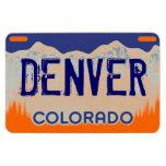 Imán azul anaranjado de la placa de Denver