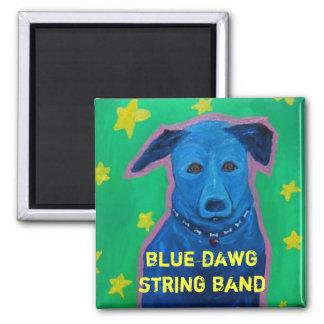 Imán azul de la banda de secuencia de Dawg