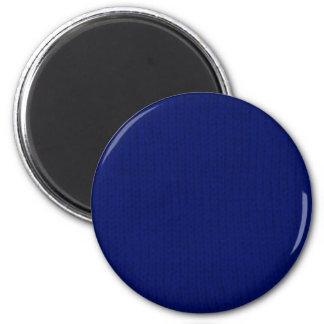 Imán azul de Stockinette