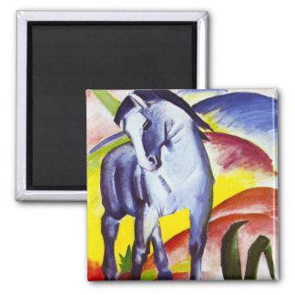 Imán azul del caballo de Franz Marc