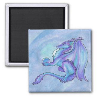 Imán azul del dragón