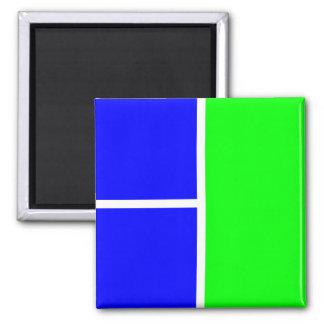 Imán azulverde 043