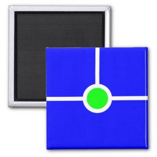 Imán azulverde 055
