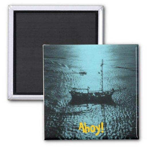Imán B del barco pirata