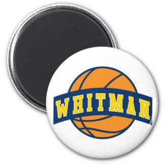 Imán - baloncesto de la universidad de Whitman