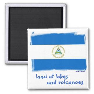 imán - bandera nicaragüense